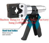 Hydraulic crimping tool Safety system inside HT-150