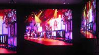 Soft LED curtain video wall pitch 25mm