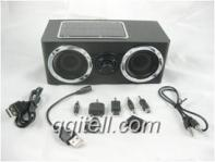 Wholesale professional gift mini solar speaker qqitell.com