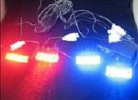 LED strobe flashing light