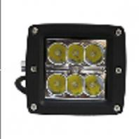 18W LED Work Light With 10 To 32V Input Voltages