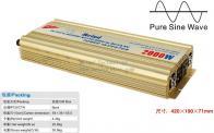 2000W Power Inverter Pure Sine Wave AC converter Car Inverters Power Supply AC Converter Car Charger
