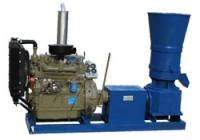 Flat Die Wood Pellet Machine-Diesel Engine