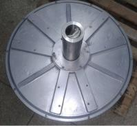 7.5kw 150rpm axial flux permanent magnet coreless generator for wind turbine