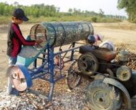 Cassava Peeling and Slicing Machine