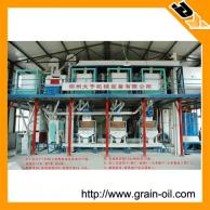 grain mill able to adapt to the use of different diameter mill rolls