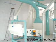 grain mill oil lubrication to avoid polluting small