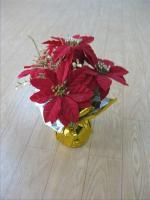 Mini Christmas flower pot 2