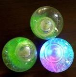 sell LED flashing glitter ball