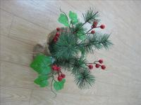 Mini Christmas flower pot1