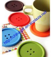 BIG Button Coaster