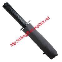 Mini 3 Fold Ninja Samurai Sword Umbrella