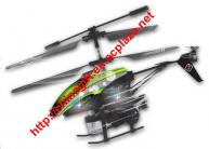 3.5 channel metal rc helicopter with blowing bubble