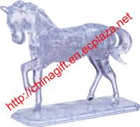 3D Crystal Puzzle Horse
