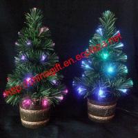 USB or Battery Fiber Christmas Tree -Green03