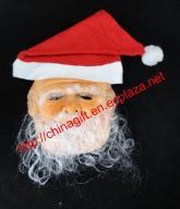 Santa Claus Decorate Masquerade Mask
