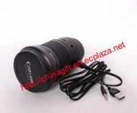 Mini Camera Lens Mutifunctional Speaker - Model Caniam