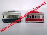 Trolley Bus Alarm Clock