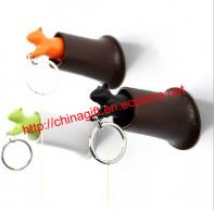 Squirrel key ring & key holder