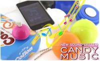 Candy Music Speaker Cell Phone Charm - Turn Everything into a Speaker