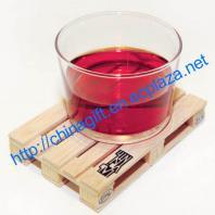 Wood Pallet Glass Coaster