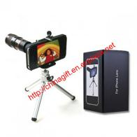 8X Lens Optical Magnification Telescope with Mini Tripod for iPhone 4/4S