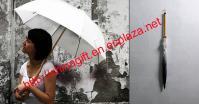 Rain Brush Umbrella - Umbrella For Graffiti