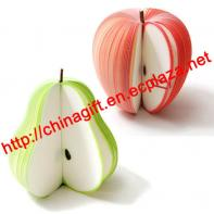 Apple & Pear Fresh Fruit Memo