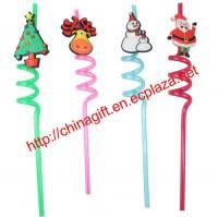Christmas straws