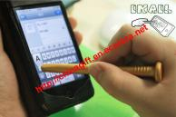 I nail style pen for touch screen