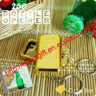 Gold Bullion / Gold Bar Design Bottler Opener (Keychain)