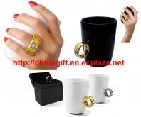 2 Carat Diamond Ring Novelty Mug