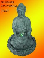 Resin outdoor buddha fountains