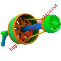Flying-Ring Blaster Flying Disc Frisbee Shooting Gun Toy