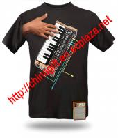 Playable Piano Synthesizer T-shirt