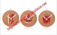 Beef Clock / Pork Clock / Hot pepper Clock