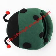 USB Ladybug Heating Feet Warmer Cushion