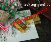 Gold Bullion / Gold Bar Design Magnet Clip