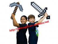 Minecraft sword and axe