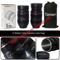 Caniam Camera Len Mug With Zoom 1:1 EF 100 mm F/2.8L Macro USM