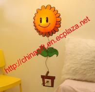 Sunflower Wallpaper Wall lamp