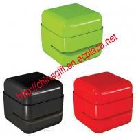 Eco staple free cube stapler