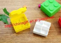 Building Block Style Pill Box Pill Medicine Case