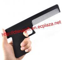Handgun Shaped Comb