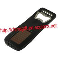 Solar Led Flashlight Bottle Opener