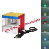 USB Magic Cube Pencil Sharpener