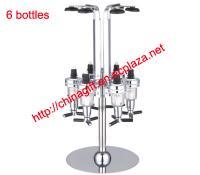 4 Bottles Rotating Drink Dispenser
