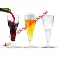 Beer Deaux Longneck Wine Bottle Beer Glass