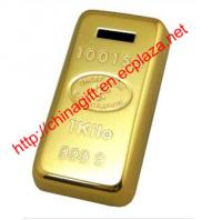 Gold Bar Coin Banker