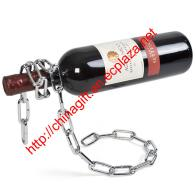 Magic Chain Wine Bottle Holder - Wine in chain